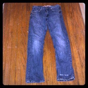 Wrangler Men's Slim Straight Jeans Size 29 X 32